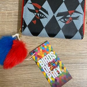 Tag attached harley wallet
